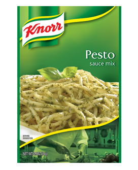 pesto by knorr package